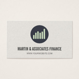Bar Graph | Icon Business Card