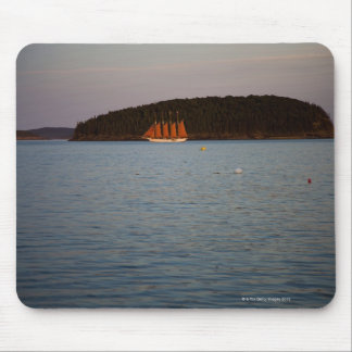 Bar Harbor, Maine at sunset Mouse Pad