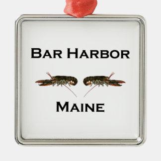 Bar Harbor Maine Christmas Ornament