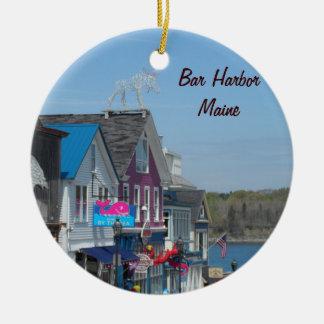 Bar Harbor, Maine Christmas Ornament