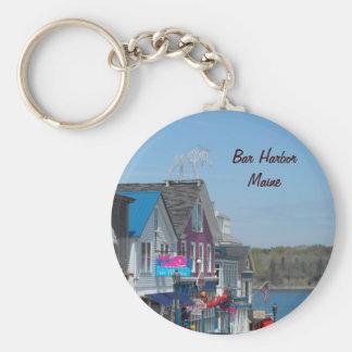 Bar Harbor Maine Key Chain