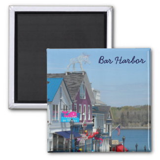 Bar Harbor, Maine Square Magnet