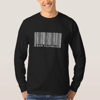 Bar Humbug - Anti Christmas Bar Code T-Shirt