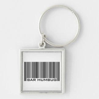 Bar Humbug - Christmas Gift Key Ring