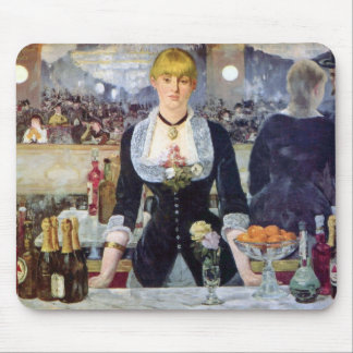 Bar in the Folies-Bergere by Edouard Manet Mouse Pad