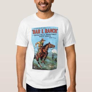 """Bar L Ranch"" 1930 vintage movie poster T-shirt"