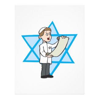 Bar Mitzvah 21.5 Cm X 28 Cm Flyer