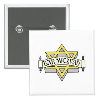 Bar Mitzvah Pinback Button