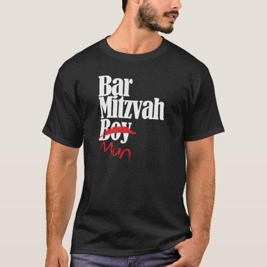 Bar Mitzvah Boy (Man) shirt