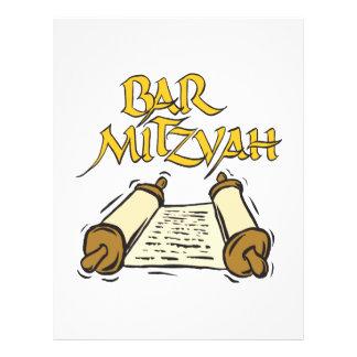 Bar Mitzvah Flyers