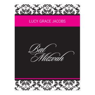 BAR MITZVAH girl 4 Post Card