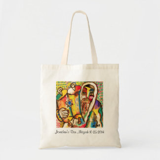 Bar Mitzvah Give-A-Way : Rejoicing In The Torah Budget Tote Bag