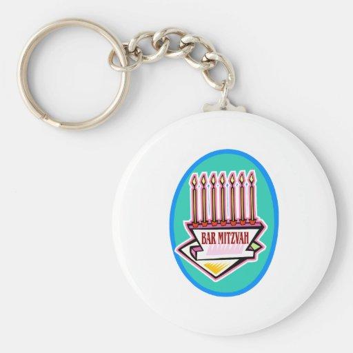 Bar Mitzvah Keychains