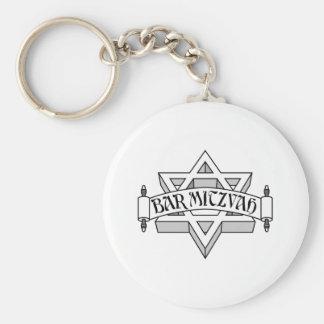 Bar Mitzvah Key Chain