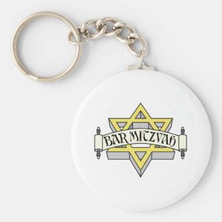 Bar Mitzvah Key Chains