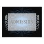 Bar Mitzvah Movie Star Reply Card in Blue, Black 11 Cm X 14 Cm Invitation Card