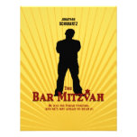 Bar Mitzvah Movie Star Reply Card Custom Announcement