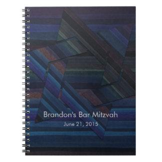 Bar Mitzvah RSVP Tracker Notebook/Guest Book Note Books