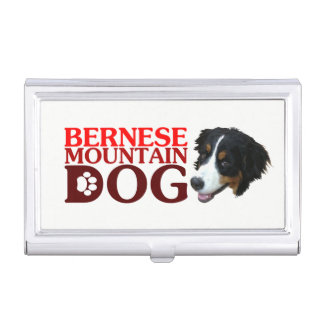 Bar needs mountain dog business card holder