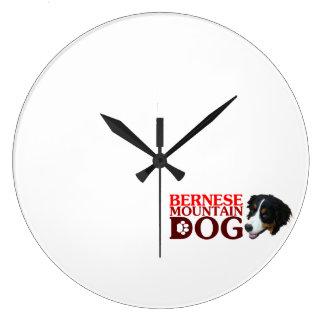Bar needs mountain dog wall clock