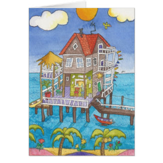 Bar on the Water Greeting Card