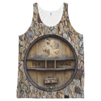 Bar Or Pub Owner or Client Top All-Over Print Tank Top