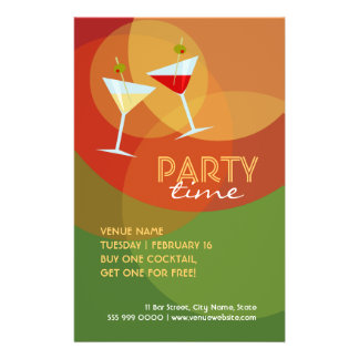 Bar / Pub / Club Cocktail Party flyer