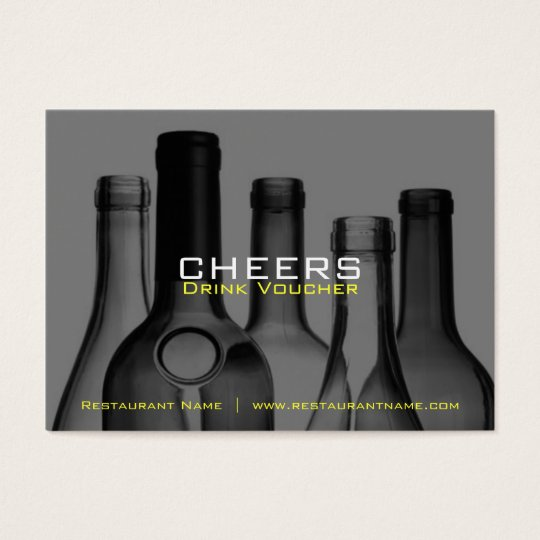 Bar & Restaurant Drink Vouchers and Coupons Business