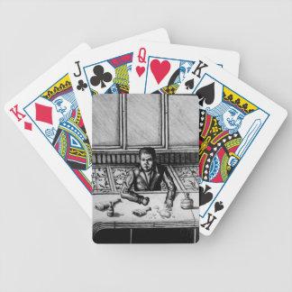 Bar Scene Playing Cards