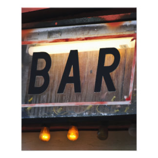 Bar Sign Flyer