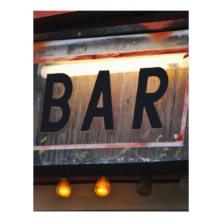 Bar Sign Flyers