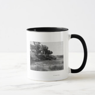 Bar Tee Ranch on Hat Creek Photograph Mug
