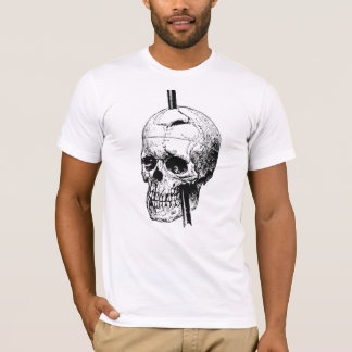 Bar through Head T-Shirt