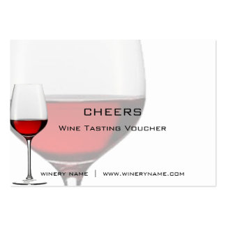 Bar, Winery & Restuarant Drink Vouchers & Coupons Business Cards