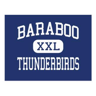 Baraboo Thunderbirds Middle Baraboo Postcard