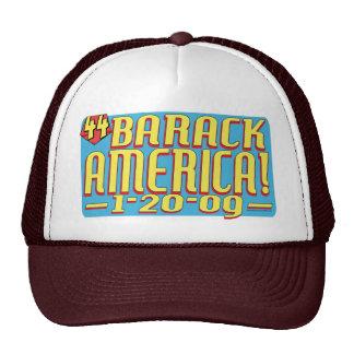 Barack America Obama White House Text Hat