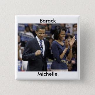 Barack and Michelle Obama Button