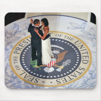 Barack and Michelle Obama dancing Inaugural Ball Mouse Mat