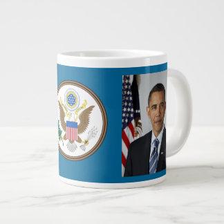 Barack and Michelle Obama Jumbo Coffee Mug Jumbo Mug