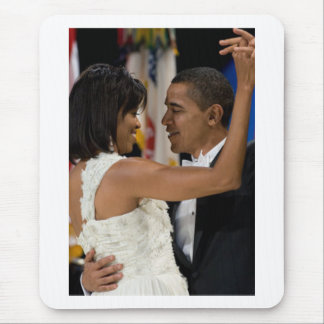 Barack and Michelle Obama Mouse Pad