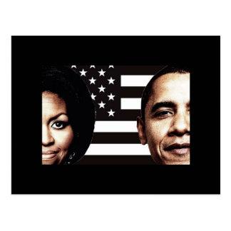 Barack and Michelle Obama Photo Postcard
