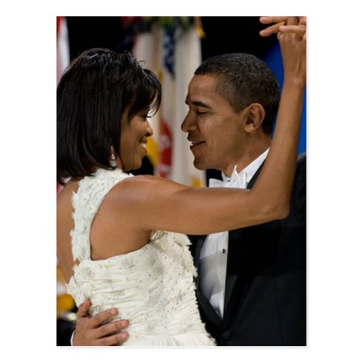 Barack and Michelle Obama Post Cards