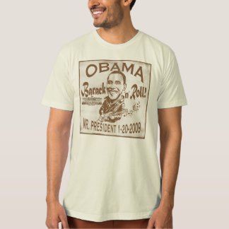 Barack and Roll 2009 Inauguration Shirt