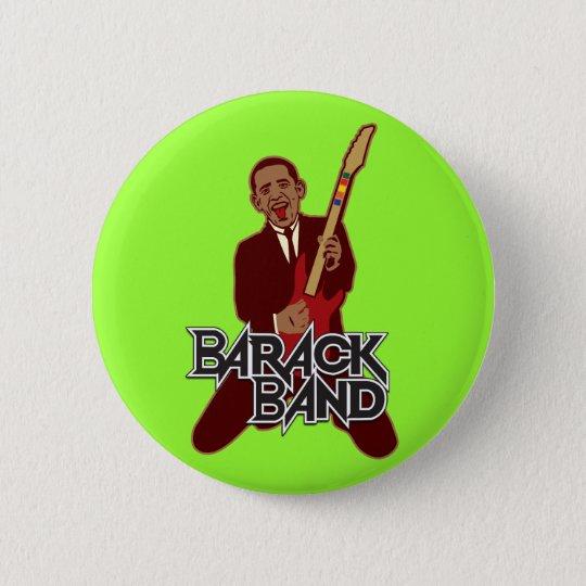 Barack Band 6 Cm Round Badge