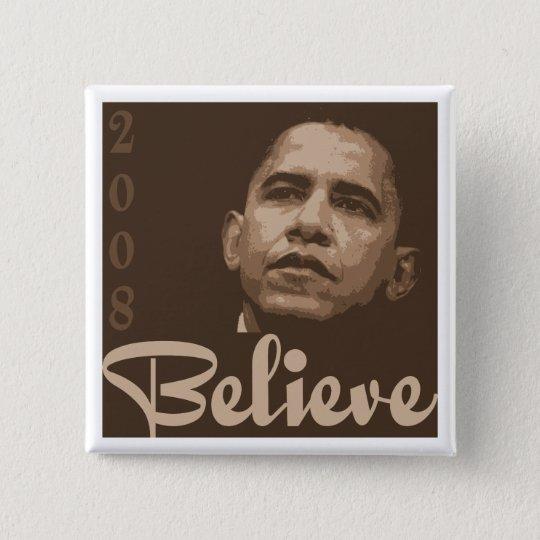 Barack Believe Button