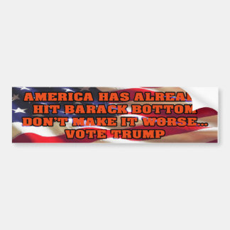 Barack Bottom Bumper Sticker