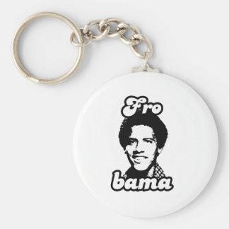 Barack Frobama Basic Round Button Key Ring