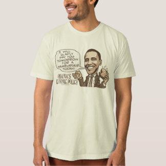 Barack Hamburger Eating  Anti-Obama Gear T Shirts