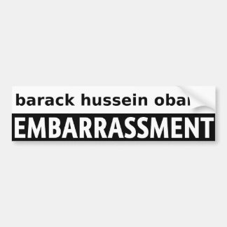 Barack Hussein Obama Bumper Sticker