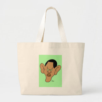 Barack Hussein Obama Large Tote Bag